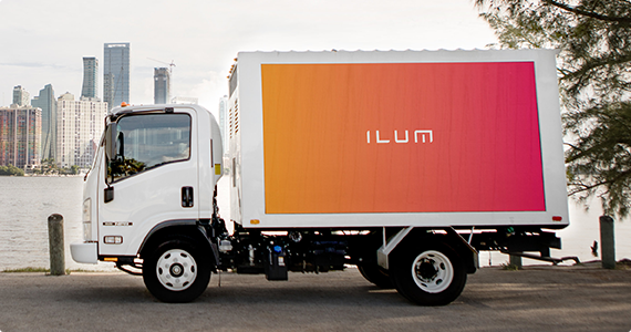 Digital Advertising Trucks | Mobile Billboard Companies | ILUMADS