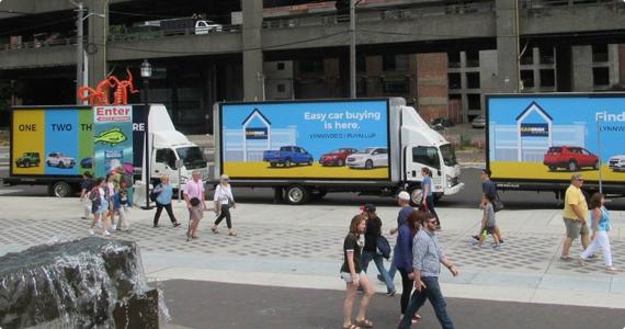 Mobile Billboards | Mobile Billboard Rental Services | ILUMADS