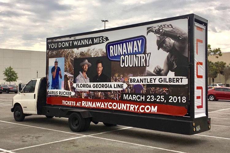 Mobile Billboard Advertising | Mobile Billboard Truck Companies | ILUMADS