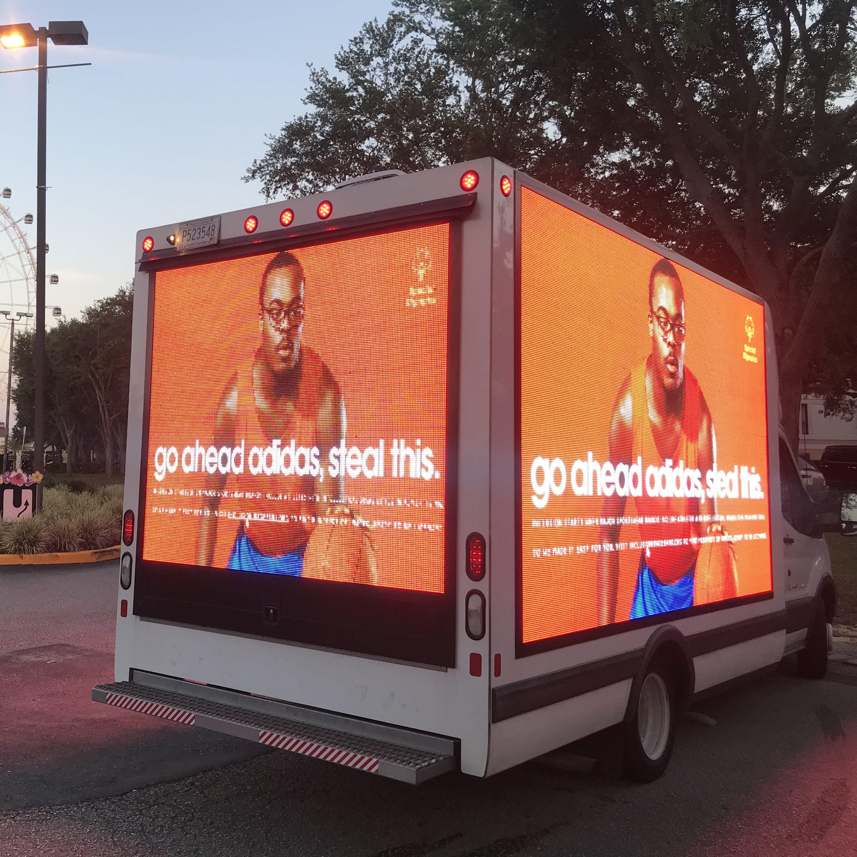 Orlando Mobile Billboard Trucks | Mobile Billboards Orlando